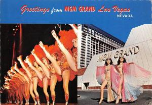 Nevada, Greetings from MGM Grand Las Vegas, festival, dancers