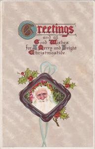 Christmas Santa Claus Smiling
