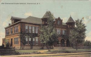 Exterior View of The Greenwood Graded Schools Building, Greenwood, South Caro...