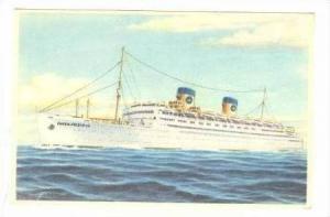 Oceanliner S/S  QUEEN FREDERICA , 1950s