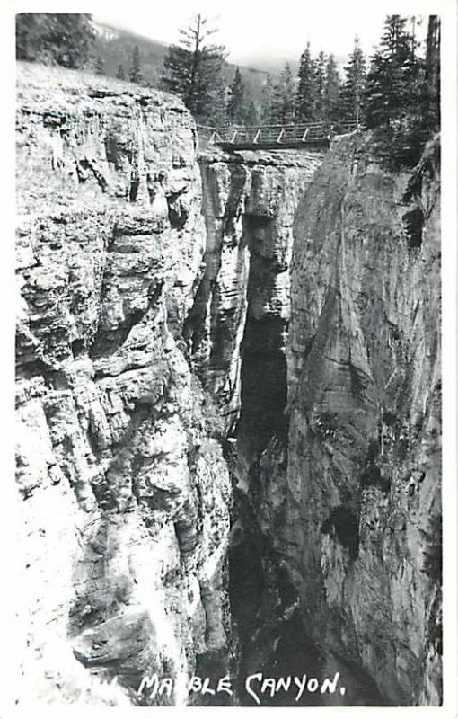 RPPC of Marble Canyon British Columbia BC , maybe Alberta