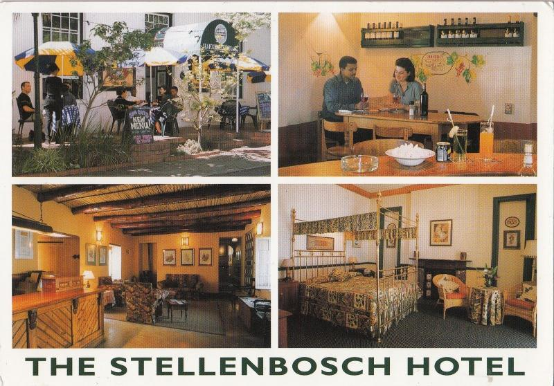 BF13774 south africa western cape the stellenbosch hotel  front/back image