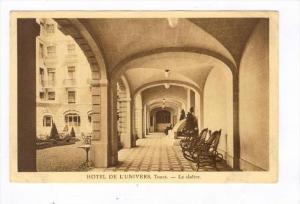 TOURS, France, 1910s  HOTEL DE L'UNIVERS, Le cloitre