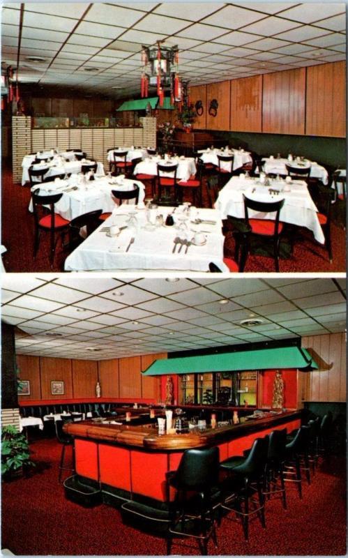 Hightstown New Jersey Nj Roadside Ming Room Chinese Restaurant Postcard