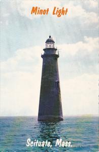 Minot Lighthouse Scituate Massachusetts