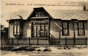 CPA LE CROTOY L'Espérance Rue Jacques d'Harcourt (868972)