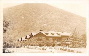 Bear Mountain Inn New York~Boulder Lined Drive~1920 Real Photo Postcard~RPPC