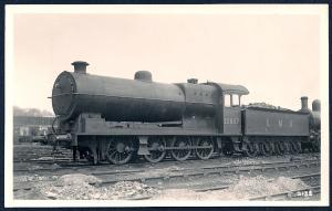 LONDON MIDLAND SCOTTS Railroad Locomotive #12857 RPPC unused