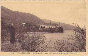 France Abbaye d'Hautecombe Le Monastere Vue prise dans la direction de Chindr...