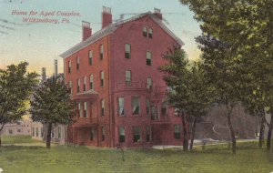 WILKENSBURG, Pennsylvania, PU-1912; Home for Aged Couples