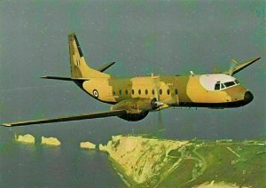 Hawker Siddeley Andover After the Battle Postcard