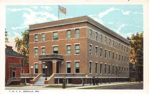 Missouri Mo Postcard c1910 SEDALIA Pettis County YMCA Building 7