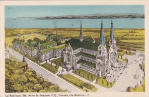 Canada Ste Anne de Beaupre The Basilica 1949