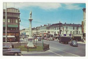 CT Danbury Main &West Streets Soldiers Sailors Monument