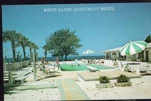 Florida HOLMES BEACH White Sands Apartment Motel, 6504 Gulf Drive - 1950s-1970s