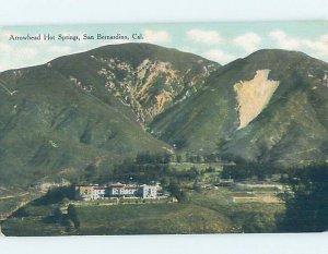 Divided-back LAKE ARROWHEAD HOT SPRINGS HOTEL San Bernardino CA AE2277