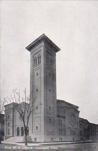 LANCASTER, Ohio, 1900-1910's; First M.E. Church