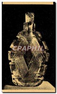 Old Postcard Marinot (Mauritius) grave Glass bottle Paris Galerie Hebrard
