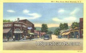 Main Street Black Mountain NC Unused