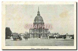 Old Postcard Paris Hotel des Invalides