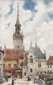 MUNCHEN , Germany, 1900-10s ; Standesamt ;  TUCK 7635