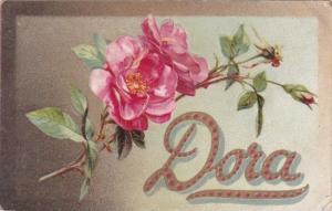 Name Card Dora 1908 Tucks