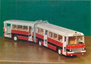 Postkarte Hungary Kozlekedesi Muzeum pivoted bus for local service