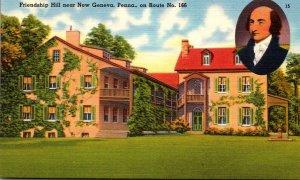 Pennsylvania New Geneva Frienship Hill Home Of Albert Callatin