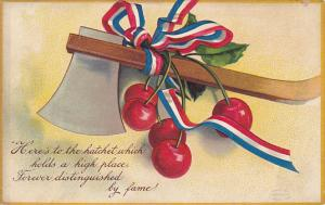 George Washington Axe and Cherries