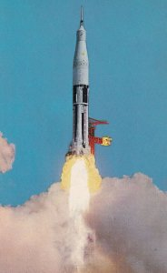 FLORIDA, 1950-1960's; NASA's Kennedy Space Center, Launch Of Saturn Space Veh...