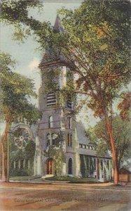 Massachusetts Great Barrington Congregational Church 1910