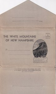 Postcard Folder Of THE WHITE MOUNTAINS OF NEW HAMPSHIRE, 1900-1910s