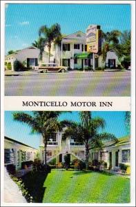 Monticello Motor Inn, St Petersburg FL