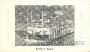 Golden Eagle Steamer, Steam Boat, Steamboat, Ship, Ships, Postcard Post Cards...
