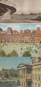 Wroclaw Opera Solny Warszawa Poland Polish 3x Postcard