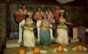 Tahitian Dancers Kauai HI Unused