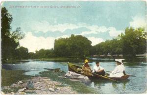 D/B Des Moines River near Beaver Creek Des Moines Iowa 1908