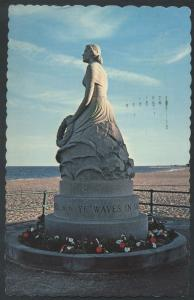Statue Marine Memorial Hampton Beach New Hampshire Postcard