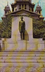 Abraham Lincoln Statue Springfield Illinois