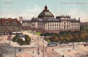 MUNCHEN, Bavaria, Germany, 1900-1910's; Karlsplatz Mit Fustizpalast
