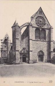 Chartres , Eure-et-Loir , France , 00-10s ; L'Eglise Saint-Aignan