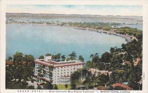 Florida Winter Haven The Haven Hotel 1933