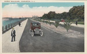 CHARLESTON, South Carolina, 1900-10s; Murray Boulevard