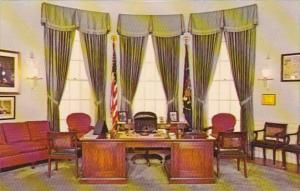Missouri Independence Replica Of President's Office Harry S Truman Library