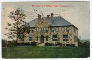 Waterville, Me, Chemical Hall, Colby College