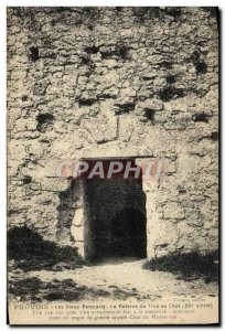 Old Postcard Provins Remparts The Old Postern From cat Hole