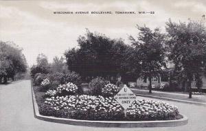 Wisconsin Avenue Boulevard, Tomahawk, Wisconsin, 1930-1940s