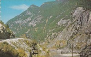 Scenic view,  Frazer Canyon,  B.C.,  Canada,  40-60s