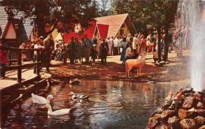 Cascade Colorado Santas Workshop Vintage Postcard J58393