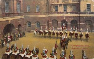 BR60656 changing the guard whitehall london military   uk